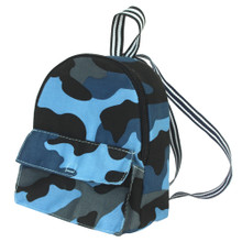 Blue Camouflage Backpack