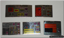 Transformers G1 Menasor Sticker Full Set.