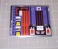 Transformers G1 Soundwave sticker sheet