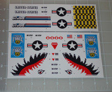 GI Joe Tiger Rat Sticker Sheet