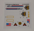 GI Joe Slaughter's Marauders Armadillo Sticker Sheet