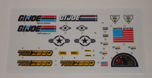 GI Joe Battleforce 2000 Vector Sticker Sheet