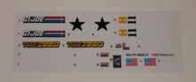 GI Joe Battleforce 2000 Sky Sweeper Sticker Sheet