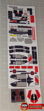 Transformers G1 Jetfire Complete Sticker Sheets