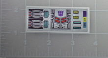 Transformers G1 Horri-bull sticker sheet