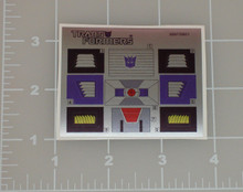 Transformers G1 Mindwipe sticker sheet