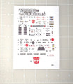 Transformers G1 Roadbuster sticker sheet