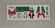 Transformers G1 Wheeljack premium sticker set