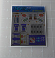 Diaclone Jet Robo Acrobat Type Sticker Sheet