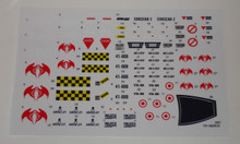 GI Joe Cobra Rattler Sticker Sheet