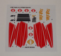 GI Joe Cobra IMP sticker sheet