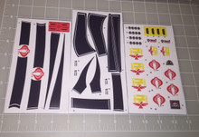 GI Joe Cobra Condor Z25 Sticker Sheet