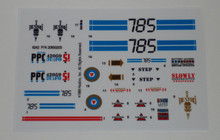 GI Joe Razorback Sticker Sheet