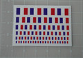 French Flag World War Custom Sticker Sheet