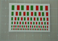 Italian Flag World War Custom Sticker Sheet
