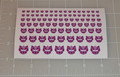 G2 Decepticon Purple Logo Sticker Sheet.