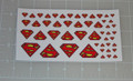 Superman Logo Sticker Sheet