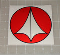 "Macross Robotech Logo 5x5"" Vehicle Decal"