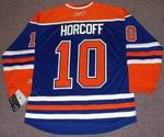SHAWN HORCOFF Edmonton Oilers REEBOK Home NHL Hockey Jersey