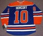 SHAWN HORCOFF Edmonton Oilers REEBOK Home NHL Hockey Jersey
