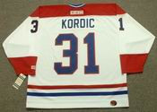 JOHN KORDIC Montreal Canadiens 1986 CCM Throwback Home NHL Jersey