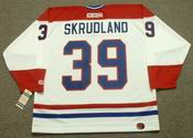 BRIAN SKRUDLAND Montreal Canadiens 1986 CCM Throwback Home NHL Jersey