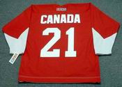 STAN MIKITA Team Canada 1972 CCM Throwback Hockey Jersey