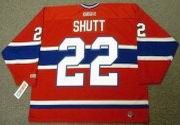 STEVE SHUTT Montreal Canadiens 1979 CCM Throwback Away NHL Hockey Jersey