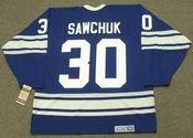 TERRY SAWCHUK Toronto Maple Leafs 1967 CCM Vintage Throwback NHL Hockey Jersey