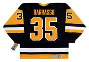 TOM BARRASSO Pittsburgh Penguins 1992 CCM Vintage Away NHL Hockey Jersey