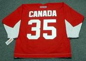 TONY ESPOSITO Team Canada 1972 CCM Throwback Hockey Jersey
