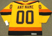 "VANCOUVER CANUCKS 1980's CCM Vintage Home Jersey Customized ""Any Name & Number(s)"""