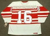 VLADIMIR KONSTANTINOV Detroit Red Wings 1992 CCM Vintage Throwback Jersey