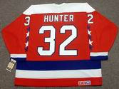 DALE HUNTER Washington Capitals 1990 CCM Vintage Throwback NHL Hockey Jersey