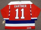 MIKE GARTNER Washington Capitals 1988 CCM Vintage Throwback NHL Hockey Jersey