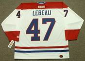 STEPHAN LEBEAU Montreal Canadiens 1993 CCM Throwback Home NHL Jersey