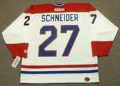 MATHIEU SCHNEIDER Montreal Canadiens 1993 CCM Throwback Home NHL Jersey
