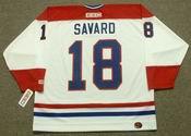 DENIS SAVARD Montreal Canadiens 1993 CCM Throwback Home NHL Jersey