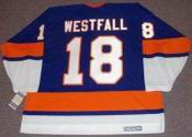 ED WESTFALL New York Islanders 1973 CCM Vintage Throwback Hockey Jersey