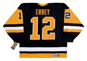 BOB ERREY Pittsburgh Penguins 1992 CCM Vintage Away NHL Hockey Jersey