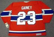 BOB GAINEY Montreal Canadiens 1974 CCM Vintage Throwback Away Hockey Jersey