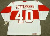 HENRIK ZETTERBERG Detroit Red Wings 1920's CCM Vintage Throwback Jersey