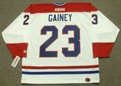 BOB GAINEY Montreal Canadiens 1986 CCM Throwback Home NHL Jersey