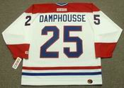 VINCENT DAMPHOUSSE Montreal Canadiens 1993 CCM Throwback Home NHL Jersey