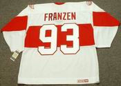 JOHAN FRANZEN Detroit Red Wings 1920's CCM Vintage Throwback NHL Hockey Jersey