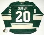 RYAN SUTER Minnesota Wild Reebok Premier Home NHL Hockey Jersey