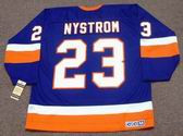 BOB NYSTROM New York Islanders 1982 CCM Vintage Throwback NHL Hockey Jersey