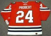 BOB PROBERT Chicago Blackhawks 1996 CCM Throwback Away NHL Hockey Jersey