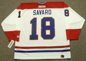 SERGE SAVARD Montreal Canadiens 1979 CCM Throwback Home NHL Jersey