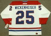 DOUG WICKENHEISER Montreal Canadiens 1982 CCM Throwback Home NHL Jersey